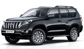 Rent a car Toyota LC Prado 150  in Kiev