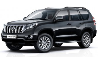 Rent Toyota LC Prado 150  in Kiev