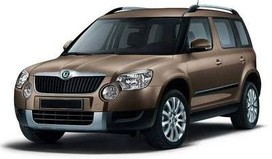 Rent a car Skoda Yeti in Kharkiv