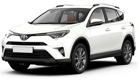 Rent a car Toyota Rav 4 IV in Kiev