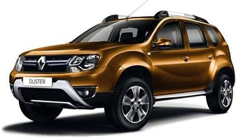 Rent Renault Duster in Kiev