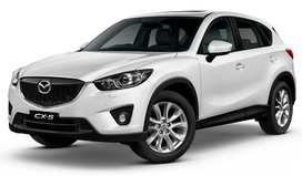 Rent a car Mazda CX5 in Ivano-Frankivsk