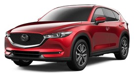 Rent a car Mazda CX5 2018 in Kiev