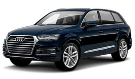 Rent a car Audi Q7 NEW in Kiev