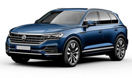 Rent a car VW Touareg NEW in Kiev