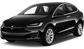 Rent a car Tesla Model X in Kiev