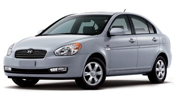 Rent a car Hyundai Accent MT in Kiev
